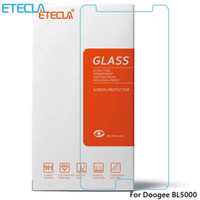 Wholesale case doogee resale online - 3Pcs Doogee BL5000 Glass Doogee BL5000 Tempered Glass BL Screen Protector Film Case mm H D Transparent