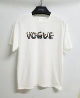 ingrosso stile bigbang-Hip Hop Kpop Bigbang Mike Frederiqo VOGUE T Shirt Uomo / Donna Casual Cotone Manica Corta Slp Tee Estate Style Streewear Saint Magliette