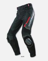 calças de corrida de komine venda por atacado-KOMINE pk-717 calças de couro de liga de Titânio Calças de corrida para as meninas da motocicleta Calças para meninas verão equitação VB