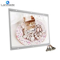 Wholesale Funny Displays - Lanmade user-define round push button function funny photo frames rotating signage real hd media player advertising led display