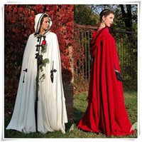 192814ff98d Plus size Winter 2017 Bridal Shawls Jackets Cape Faux Fur Christmas Cloaks  Hooded Perfect Wedding Wraps Abaya Wedding Dresses