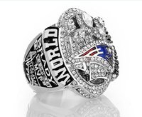 Wholesale cluster rings - Newest Championship ring jewelry New England Patriots Championship Ring Fan Gift drop shipping