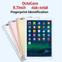 9,7 dual-kamera-tablette großhandel-Fingerabdruck-Identifikation 9,7