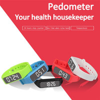 Wholesale Luxury Watches For Kids - Luxury Smart bracelet watch men New CD5 3D LED Calorie Pedometer Sport Smart Bracelet Wrist Watch men sports digital wristwatch
