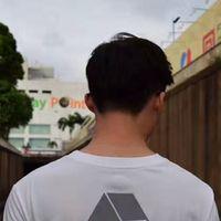 ingrosso camicie a maglia leggera-T-shirt da uomo riflettente bianca nera Skateboard Cool Streetwear T-shirt a maniche corte bianca che riflettono meglio Tops LLWF0514