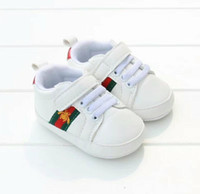 Wholesale 2019 hot New Romirus toddler moccasins baby shoes PU Leather first walker shoes soft sole Newborn girls boys Brand sneakers M