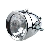 Wholesale friction light online - 12V W Bicycle Motorized Bike Friction Generator Dynamo Headlight Tail Light Kit MOT_21Y