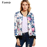 Wholesale womens costume xxl - Vertvie Gym Fitness Sports Jacket Breathable Full Sleeve Floral Printed Womens Sportswear Running Tracksuits Costumes