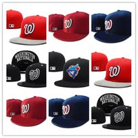 Wholesale online fit - Newest Washington Nationals Fitted hat Online Shopping Street Fitted Fashion Hat W Letters Snapback Cap Men Women Basketball Hip Pop