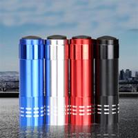 led el feneri kitleri toptan satış-Mini 9 Led Fenerler Alaşım Taşınabilir Torch Açık Kamp Tırmanma Aydınlatma Için Tazer Withe Basın Düğme Pratik Survival Kit 1 7ll ZZ