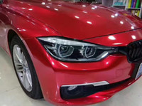 Wholesale Candy Gloss - Glossy Candy blood Red car wrap vinyl Film With Air Release CANYD RED Gloss Shiny wrap foil sticker covering sheets SIZE: 1.52*20M 5x67ft