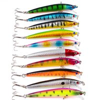 Wholesale japan minnow lure for sale - Group buy Fishing Lure Kits Hard ARTIFICIAL LURES MINNOW FISHING LURES Set Japan Steel Balls Blade Fish Bait Cheap Tackle