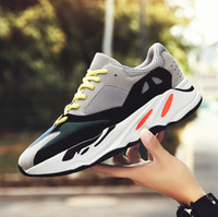 Wholesale beat man - 2018 spring new men fashion breathable shock-absorbing lightweight running shoes students casual fashion fight color street beat running sho