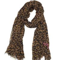 bufandas azul real mujeres al por mayor-Gran venta de otoño y material de algodón patrón de leopardo impresión clásica de invierno arrugar ms Scarf tamaño grande de 200 cm -130cm
