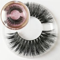 Wholesale Handmade Package - H002 private logo and package-box natural style mink hair lashes Mink Hair sexy Eyelashes Extension 3d soft multi-layer handmade eyelashes