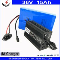 Wholesale lithium batteries for e bike - BOOANT 36v 15Ah E-Bike Battery for Bafang 800W Motor with 42v 5A Charger Scooter Lithium Battery 36v Free Duty to EU US