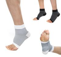 soportes de tobillo deportivo al por mayor-Proteger los calcetines de presión de la articulación Elástico Compresión Deporte Protector Baloncesto Fútbol Apoyo del tobillo Brace Guardia Soporte FBA Envío de la gota G474Q