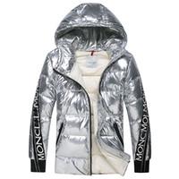 2018 neue Herren Wintermantel berühmte Designer-Marke weiße Ente Männer Top- Qualität Daunenmantel Männer Down Parkas Luxus warme Oberbekleidung plus  Größe 69d229293b