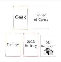 cartas de súper pelea al por mayor-¡Envíe de inmediato! DHL! Superfight Cards Humanity Holiday 2012 2013 2014 Paquete de diseño web Rechaza PACK juego de cartas CRABS ADJUST HUMIDITY superfig