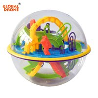 Wholesale intellect toys for sale - GLOBAL DRONE D Magic Maze Ball Plastic Perplexus Magical Intellect Ball Kids Children IQ Educational Classic Toys Maze Bal