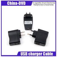 ladegerät lädt elektronik großhandel-Elektronisches Zigaretten-Ladegerät US / EU / AU Ladestecker für EGO e-Zigaretten-Handy MP3