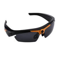digitale schreiberbrille großhandel-HD 1080P Video Brille Outdoor Sports Kamera Fernbedienung Digital Recorder Sonnenbrille