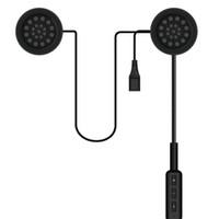 motosiklet kaskı kablosuz bluetooth kulaklıklar toptan satış-Jetting Motor Için Kablosuz Bluetooth Kulaklık Motosiklet Kulaklık Hoparlör Handsfree Müzik MP3 MP4 Smartphone Kask Kulaklık