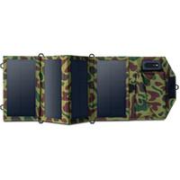freie energie energie großhandel-Free Energy 7W Klapp-Solarpanel mit DC5V-USB-Ausgang als mobiles solarbetriebenes Ladegerät