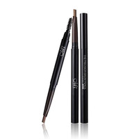 длительный карандаш для бровей оптовых-Make up set Eyebrow Pencil With Brush and Replace Eyebrow Waterproof Long Lasting Cosmetic kit