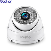 câmeras ip 3mp venda por atacado-GADINAN IP Câmera de 3MP SONY IMX323 H.265 Segurança Vigilância Outdoor Dome CCTV IR Cut Início Camera POE opcional Detecção de movimento