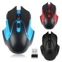 Wholesale usb optical scroll mouse online - for Tablet Laptop Colors GHz Wireless Mouse USB Optical Scroll Mice Wireless Gaming Mouse Ergonomic