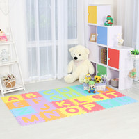 Wholesale Puzzle Pc Game - Infant Shining 26pcs Baby Play Mat Alphabet Children Climbing Pad Game Pad Household Living Room Puzzle Toy Soft Environmental