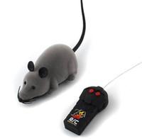 brinquedos de controle remoto para crianças venda por atacado-Rato de Controle Remoto sem fio Eletrônico Ratos RC Brinquedo Animais de Estimação Gato Brinquedo Do Rato Para crianças brinquedos