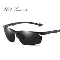 6182a362dd Wholesale polarized glasses aluminium sunglasses for sale - Yok s Polarized  Driving Military Sunglasses Aluminium Top
