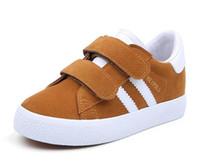 ingrosso panni di molle dei ragazzi-NUOVE scarpe per bambina bambino tela scarpe da tennis denim nuova primavera autunno moda bambini scarpe casual panno scarpe piatte