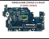 Wholesale High quality Z5WAH LA B161P for ACER Aspire E5 P Laptop Motherboard NBML81100B I3 U DDR3L Fully Tested