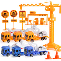 Wholesale Vehicle Specials - 2018 Special Offer Limited Wholesale Chenghai Crane Engineering Construction Model Mini Vehicle Car Dump Truck Classic Toy Gift
