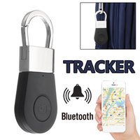 Wholesale Bluetooth Keychain Alarm GPS Tracker Smart Key Alarm Anti lost Key Finder Locator Device for Car Child Pet Elder Tracking Tracer