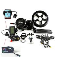 elektro-fahrrad-kit kostenlos großhandel-Freies Verschiffen heißer Verkauf 36V250W bafang elektrische Fahrrad Kurbelantrieb Motor BBS01 Mitte Position elektrische Fahrrad-Kit
