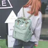 high quality stylish backpacks Australia - High Quality Women Backpack for School Teenagers Girls Vintage Stylish School Bag Ladies Cotton Fabric Backpack Female Back Pack