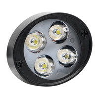 Wholesale kawasaki headlights resale online - 2Pcs Set Motorcycle Headlight LEDs Moto Headlamp Spotlight DC V V Motorcycle Accessories Super Bright Assist Lamp