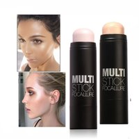 Wholesale long ideas - FOCALLURE Face Blushes Bronzer Highlighter and Shimmer for Long-lasting Concealer Bright Idea Illuminating Sticker Makeup Tools