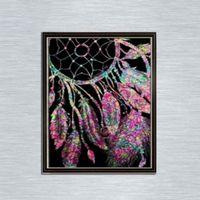 Wholesale new art paintings for sale - New cm Dreamcatcher Full D Diamond Painting Kit Decoración Del Hog Home Decor Wall Art Square Diamond Craft Supplies