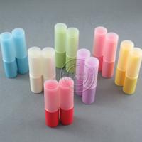 recipiente de bálsamo de lábios diy frete grátis venda por atacado-DHL frete grátis 500 pçs / lote, estilo clássico lábio bálsamo labial lip balm case diy batom recipiente vazio pacote