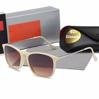 Wholesale colorful square sunglasses women resale online - Classic European and American Trends Sunglasses for Men and Women Sunglasses Colorful Joker Fashion Square Women Man Sunglasses good Quality