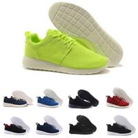 release date cf1ec 954fc Nike Air Roshe One Run 2018 new london scarpe sportive runnig scarpe donna  uomo rosso blu all black Olympic Sports Sneakers Scarpe da ginnastica  taglia 36- ...