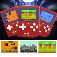 Wholesale Nes Lcd - Coolbaby 8 bit 2.0 inch LCD color Handheld Game Console Game Player Mini RS-6 Handheld Game Console Built-in 129 games 0801115