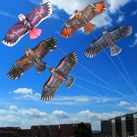 Wholesale Kite Led - Wholesale-Free Shipping Outdoor Fun Sports 1.5m 1.7m Eagle Kite high quality flying higher Big Kites-P101