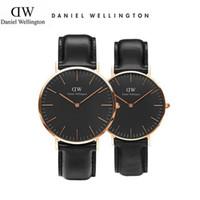 Wholesale Best Women Watches Color - 2018 best seller DW watches women mens fashion leisure Couple watch Sweden Luxury Brand Daniel Wellington watch men quartz watch reloj mujer