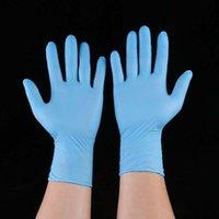 добрые перчатки оптовых-Одноразовые нитриловые латексные перчатки 5 видов спецификаций дополнительные противоскользящие анти-кислотные перчатки A класс без порошка резины бесплатная доставка